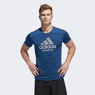 adidas Run It Logo Tee