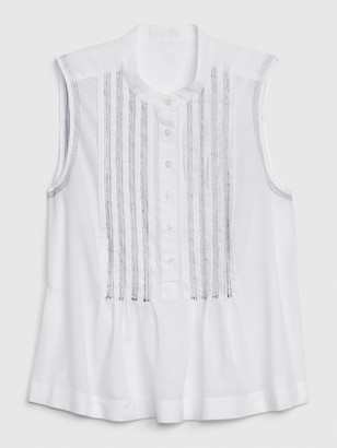 Gap 1969 Premium Sleeveless Popover Top