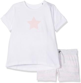 Bellybutton KiKo Girl's Schlafanzug 2tlg. T-Shirt 1/4 Arm Short Pyjama Sets