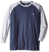 Champion Men's Big and Tall Long Sleeve Jersey T-Shirt