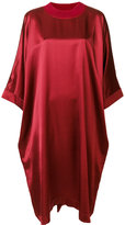 Maison Margiela metallic shift dress - women - Polyamide/Polyester/Spandex/Elastane/Virgin Wool - 38