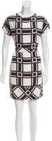 Agnona Printed Mini Dress