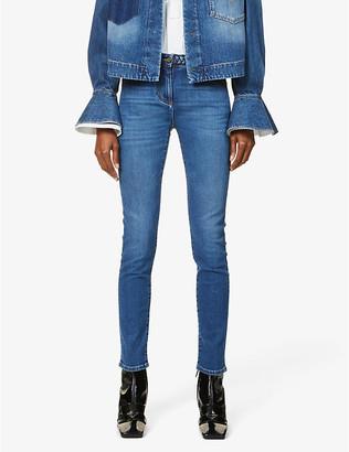 Valentino Skinny mid-rise jeans