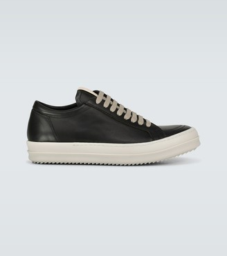 Rick Owens Low Sneaks leather sneakers