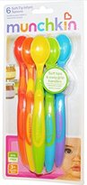 Munchkin Soft-Tip Infant Spoons - 2 Packs of 6 Count = 12 Count by