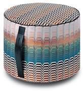 Missoni Santa Fe Seattle Cylindrical Floor Pouf