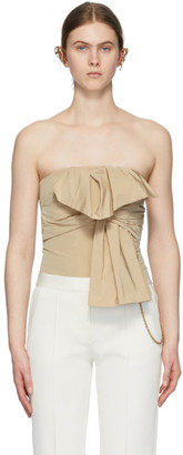 Givenchy Beige Bow Tank Top