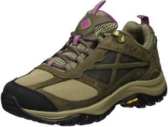 Columbia Women's Terrebonne Outdry Hiking Shoe Pebble Intense Violet 5 B US