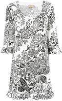 Fay floral print dress - women - Cotton - S