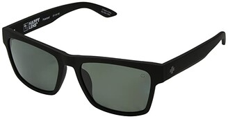 Spy Optic Haight 2 (Soft Matte Black/Happy Gray Green Polar) Athletic Performance Sport Sunglasses