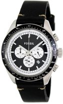 Fossil Men's Edition Sport CH2845 Leather Analog Quartz Watch with Dial