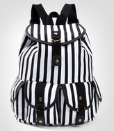 Fred Flare Deetz Striped Backpack