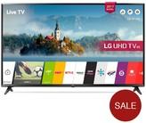 LG Electronics 49UJ630V 49 Inch, 4K Ultra HD HDR, Smart, LED TV