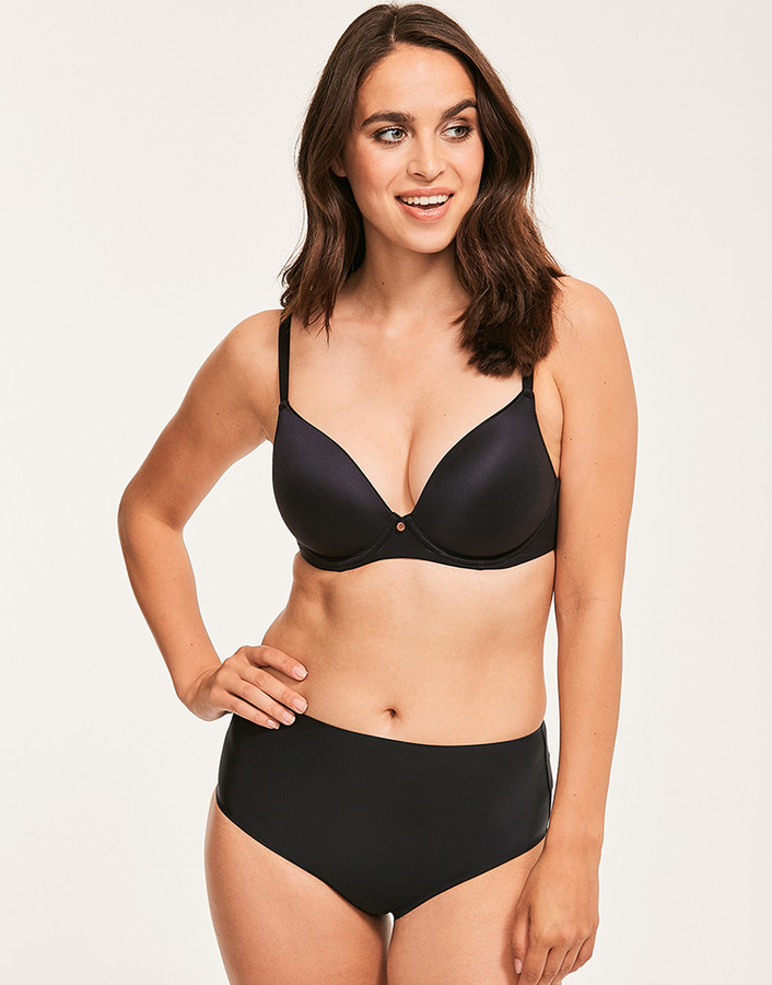 Figleaves Smoothing Plunge Bra A-H