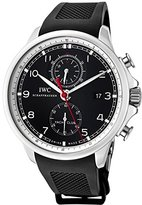 IWC Men's Portuguese Yatch Club Automatic Chronograph Dial Rubber