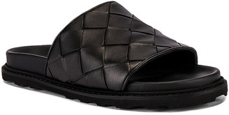 Bottega Veneta Speedster Slide in Black | FWRD