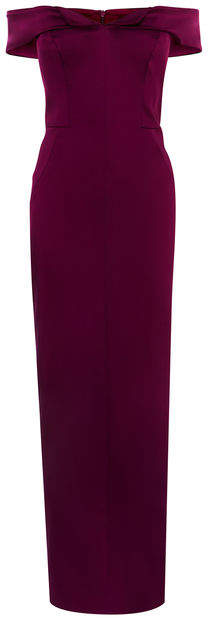 Karen Millen Cold-shoulder Maxi Dress