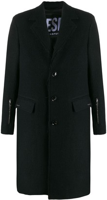 Diesel Raw-Edge Coat