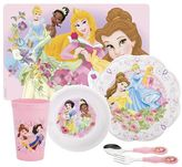 Zak Designs Disney princess 6-pc. mealtime set