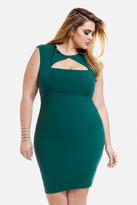 Fashion to Figure Minta Pintuck Cutout Dress
