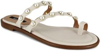 Kensie Malka Embellished Slide Sandal