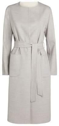 Cinzia Rocca Virgin Wool Belted Coat