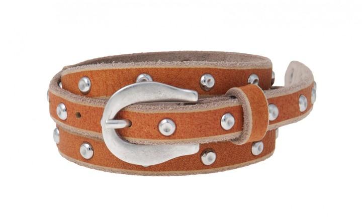 Martinica Skinny Belt In Orange