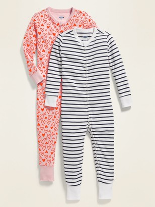 Old Navy Printed Pajama One-Piece 2-Pack for Toddler & Baby