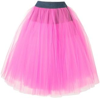Junya Watanabe Two-Tone Tutu Skirt
