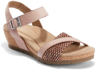 Earth Origins Adjustable Wedge Sandals - KendraKennedy