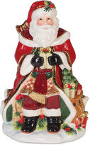 Fitz & Floyd Holiday Tidings Cookie Jar