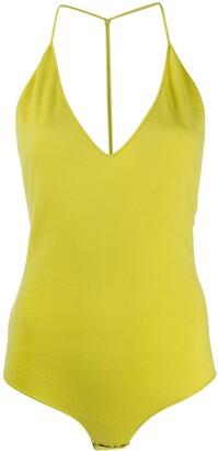 Bottega Veneta Open-Back Sleeveless Bodysuit