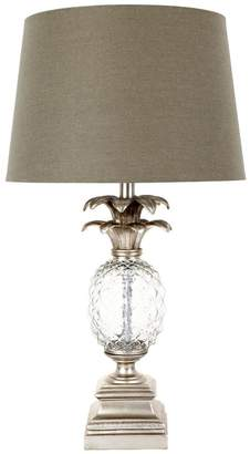 Cafe Lighting Astor Table Lamp Antique Silver