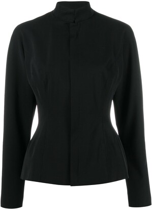 Jean Paul Gaultier Pre-Owned 1990's High Collar Fitted Jacket