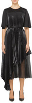 Christopher Kane TULLE LAME PLEATED DRESS