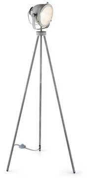 "17 Stories Lovett Reflector 59.06"" Tripod Floor Lamp"