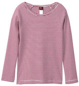 Tea Collection Striped Purity Tee (Toddler, Little Girls, & Big Girls)