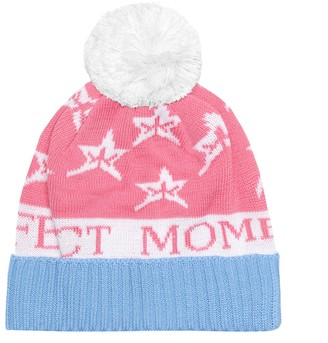 Perfect Moment Kids PM Star wool-blend beanie