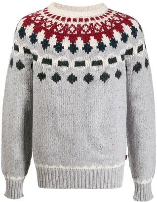 Woolrich crew-neck knit jumper