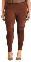 Lauren Ralph Lauren Plus Stretch Cotton Skinny Pants