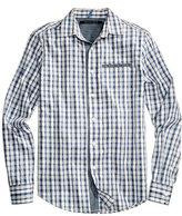 Sean John Men's Big & Tall Checked Cotton Shirt