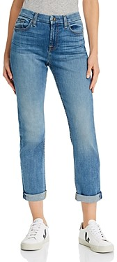 7 For All Mankind JEN7 by Straight-Leg Ankle Jeans in Canyncoast