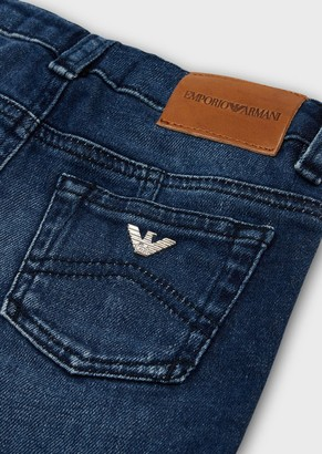 Emporio Armani Faded-Wash Jeans