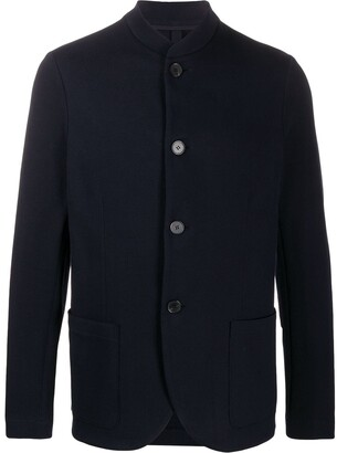 Harris Wharf London Button-Down Fitted Jacket