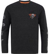 Animal Boys' Long Sleeve Brecken T-Shirt, Grey