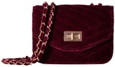 Jessica McClintock Elaine Velvet Shoulder Bag