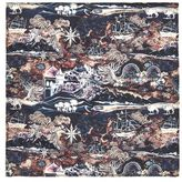 Topman Atlas Print Liberty Fabric Pocket Square