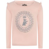 Juicy Couture Juicy CouturePowder Pink Scottie Long Sleeve Top