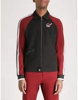 Lanvin Dinosaur-patch jersey track jacket