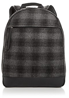 Bloomingdale's The Men's Store at Plaid Wool Backpack - 100% Exclusive